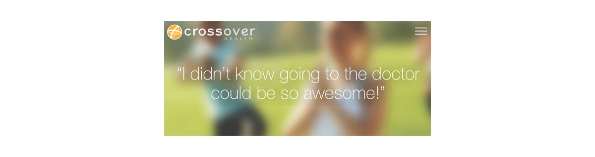 Crossover Health testimonial