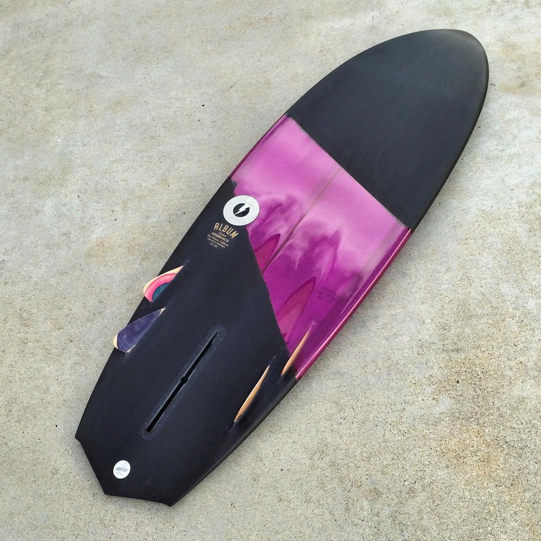 Album Surfboard bonzer and gloss