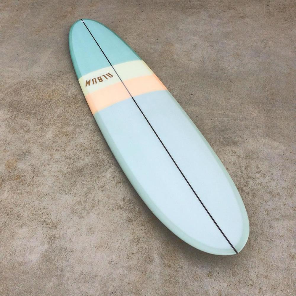 custom mid-range surfboard