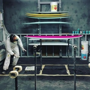 album surfboards production facility
