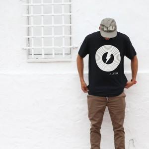 Album brand shirt and hat