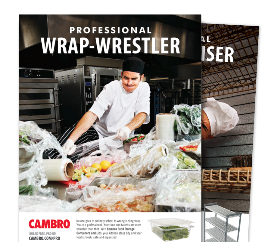 Cambro print advertising campaign