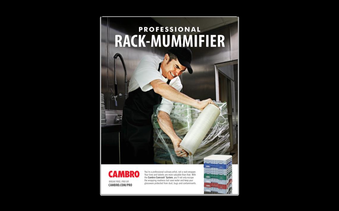 brand campaign ad for Cambro