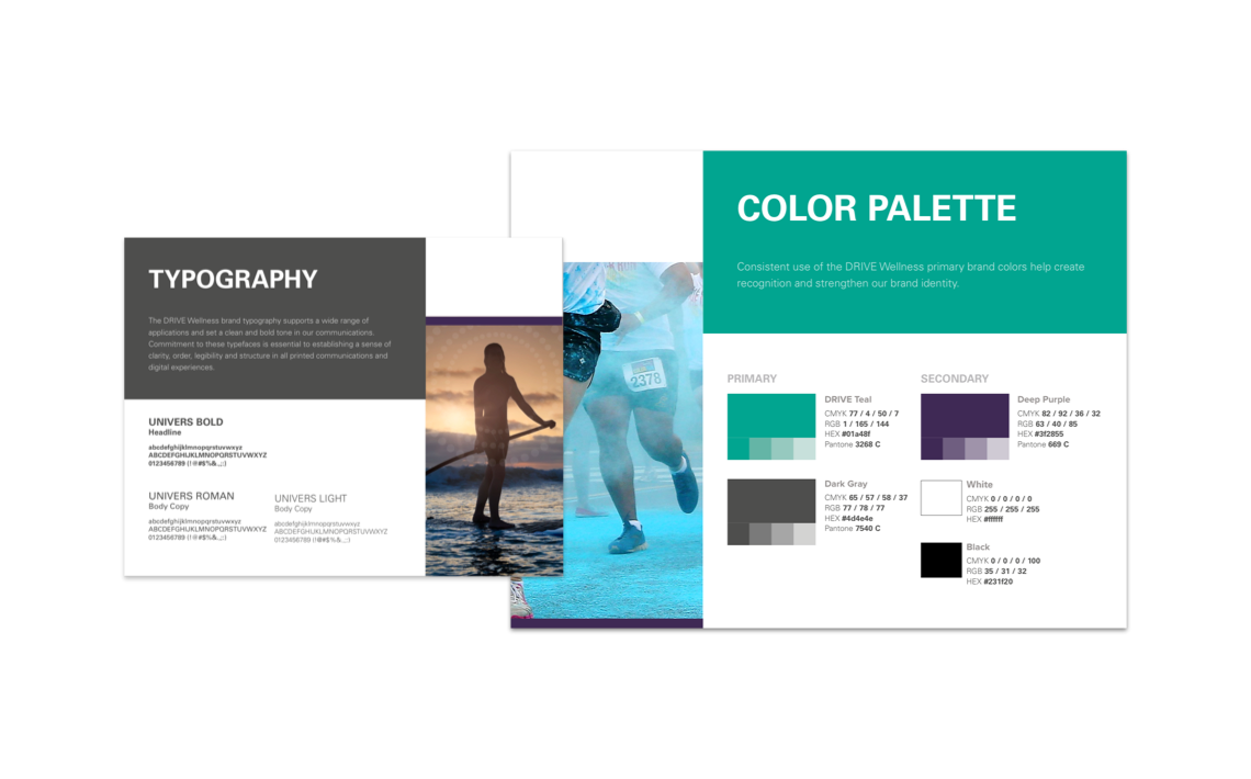 style guide typography and color