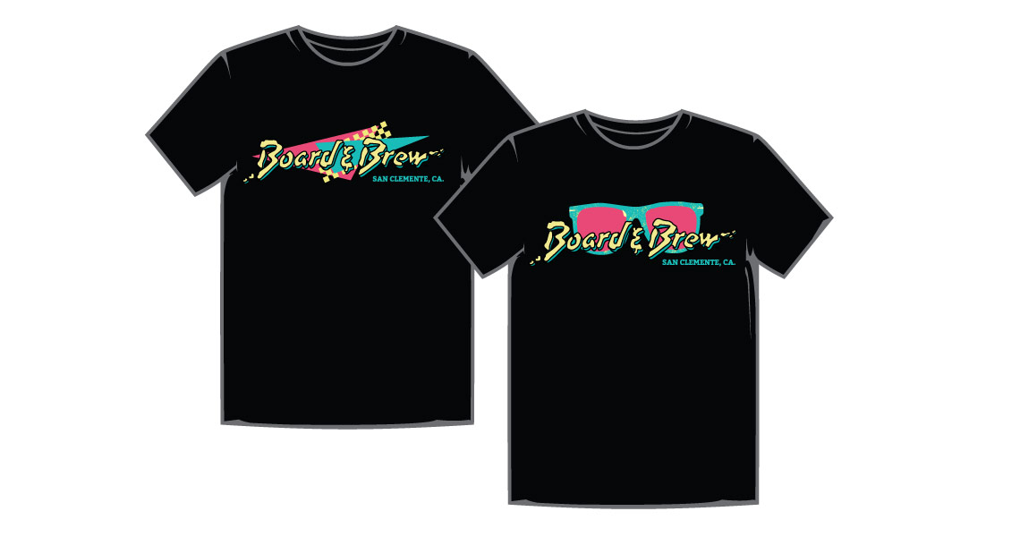 Board and Brew T-Shirt Designs