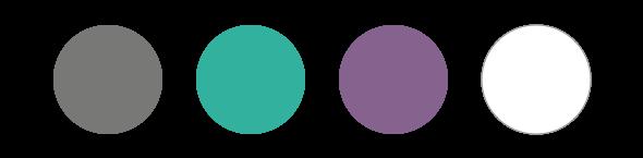 Drive Wellness brand color palette