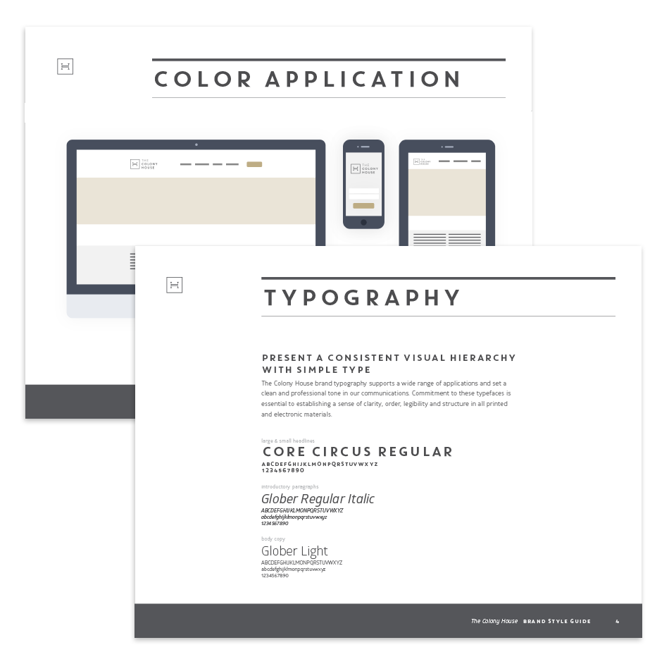 The Colony House Brand Guidelines