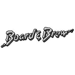 Board & Brew black & white logo