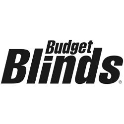 Budget Blinds black & white logo