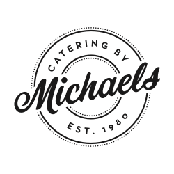 Catering By Michaels black & white logo