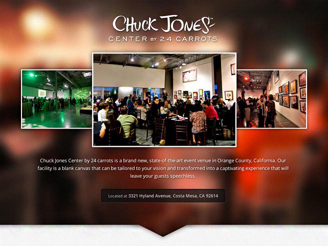 Chuck Jones Center website home page