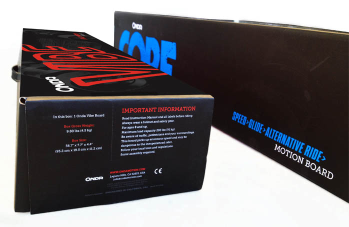 Onda boards packaging