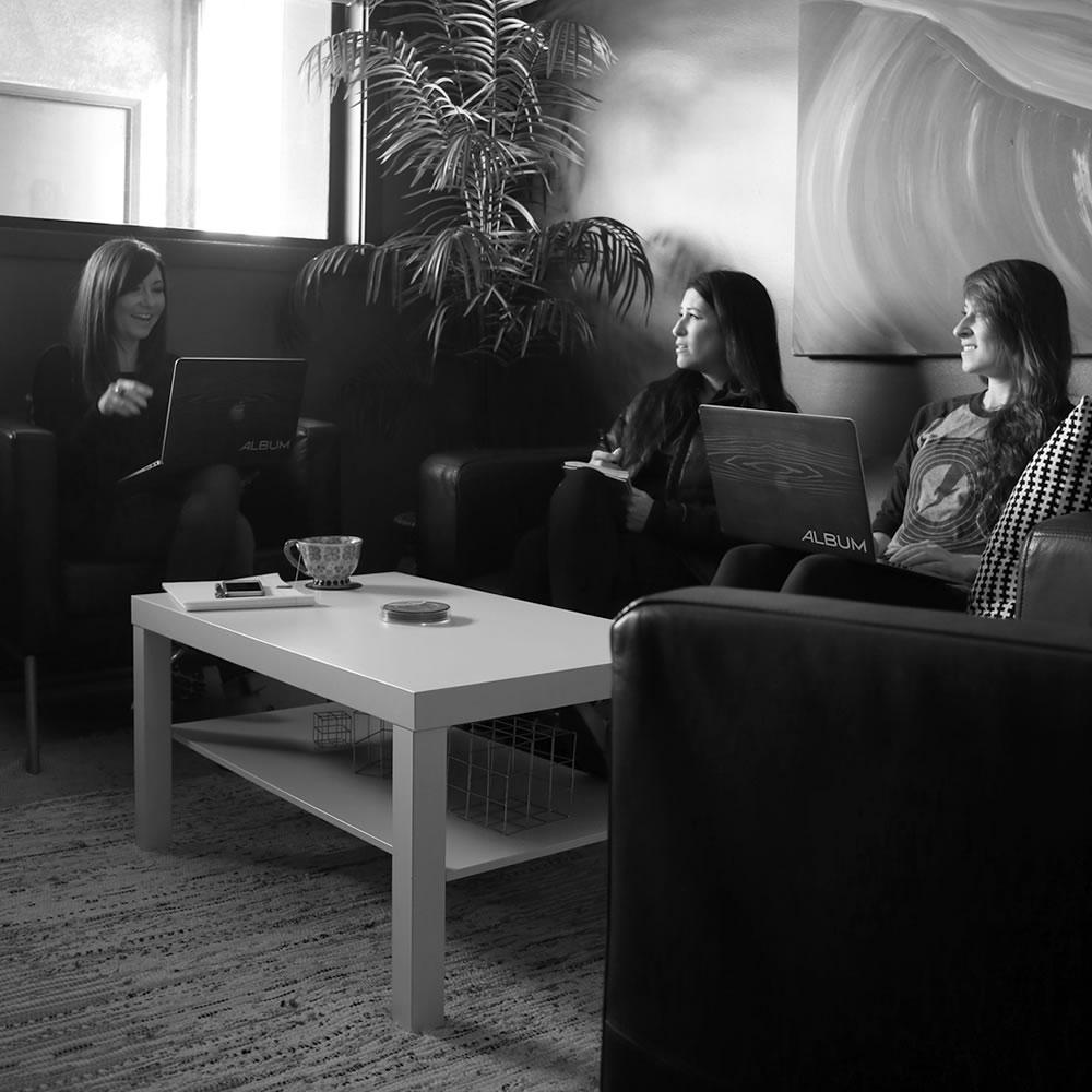 branding agency creative meeting