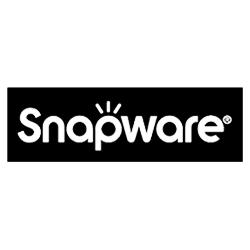 Snapware black & white logo