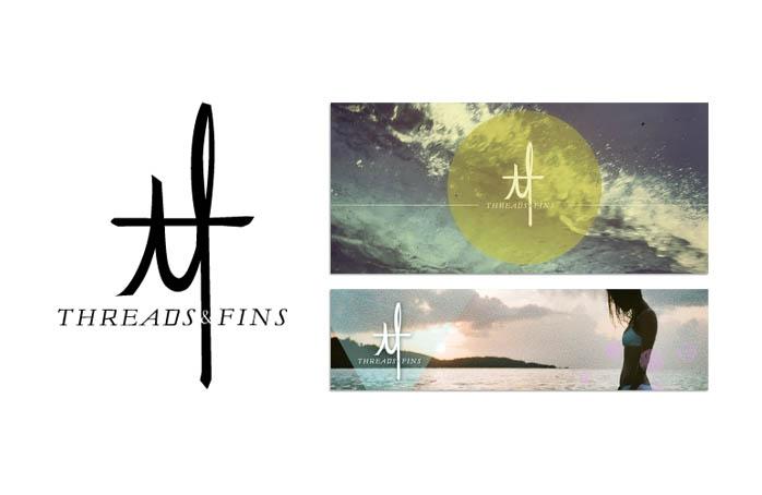 Threads & Fins logo