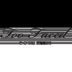 Too Faced Cosmetics black & white logo