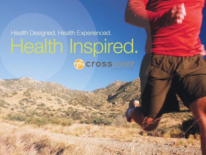 Crossover Health - inspired branding