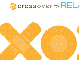 XO creative bandaids for Crossover Health