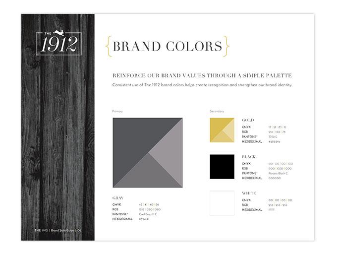 1912 brand color guide