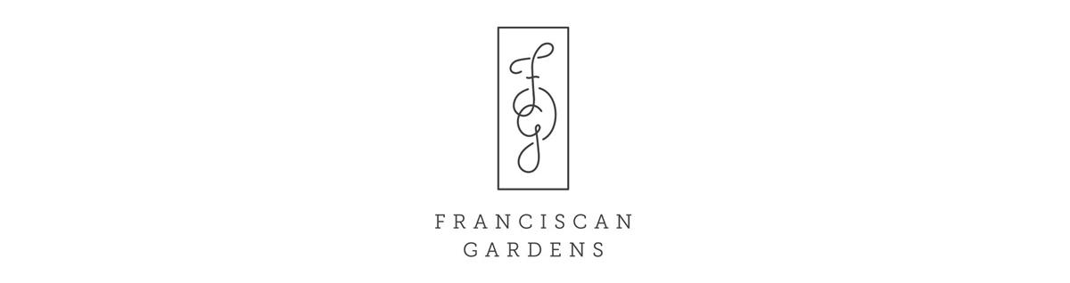 Franciscan Gardens brand identity