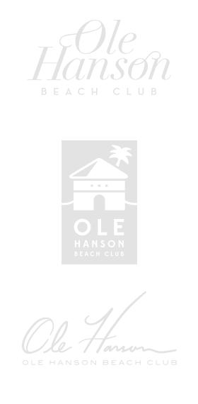 Ole Hanson Logo Concept Exploration
