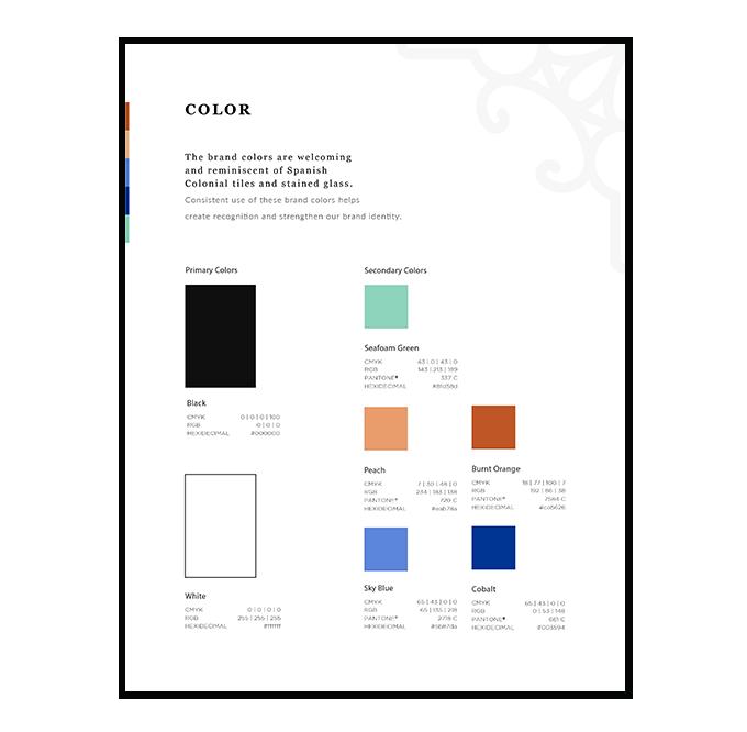 Brand Color Palette