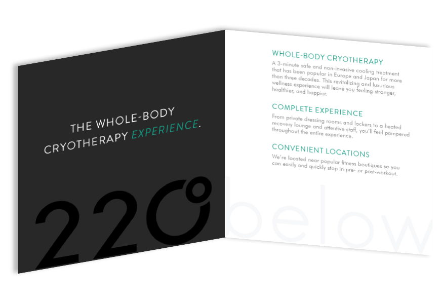 220 below branded brochure