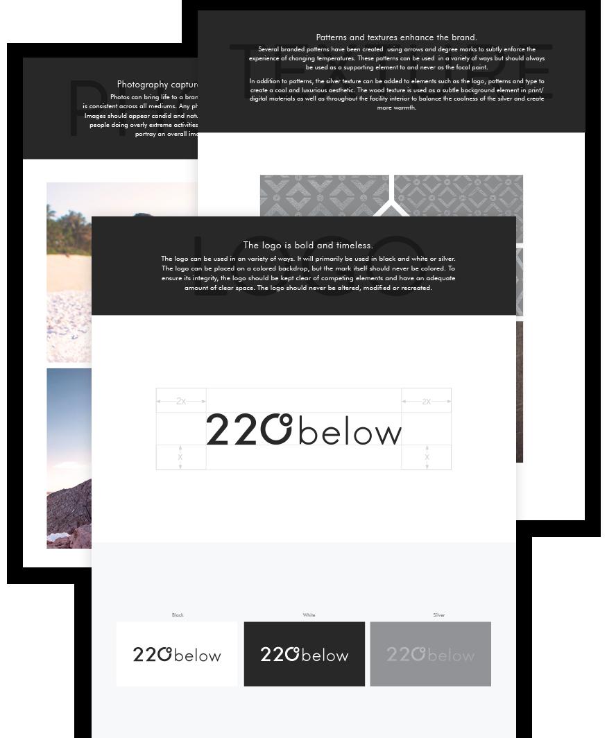 220 below brand guidelines