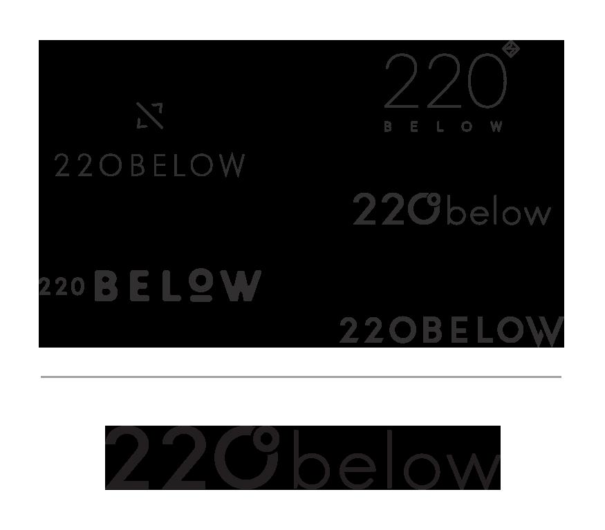 220 below logo