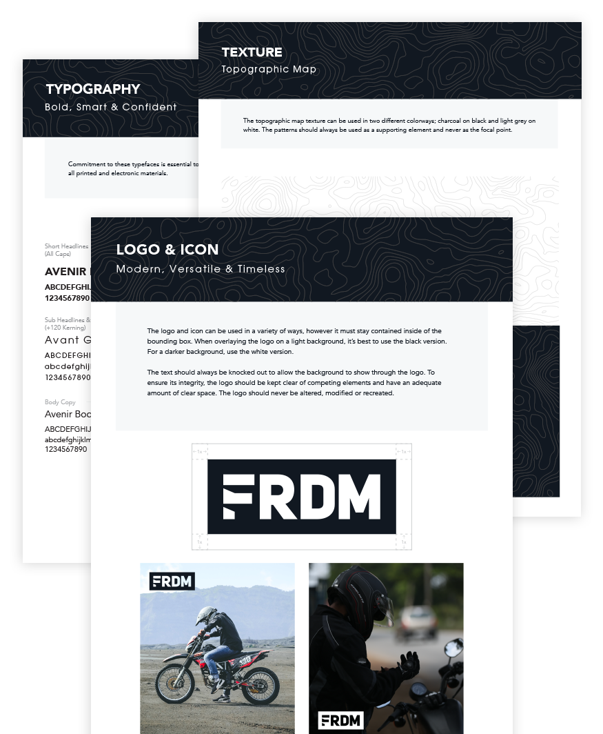 FRDM brand style guide