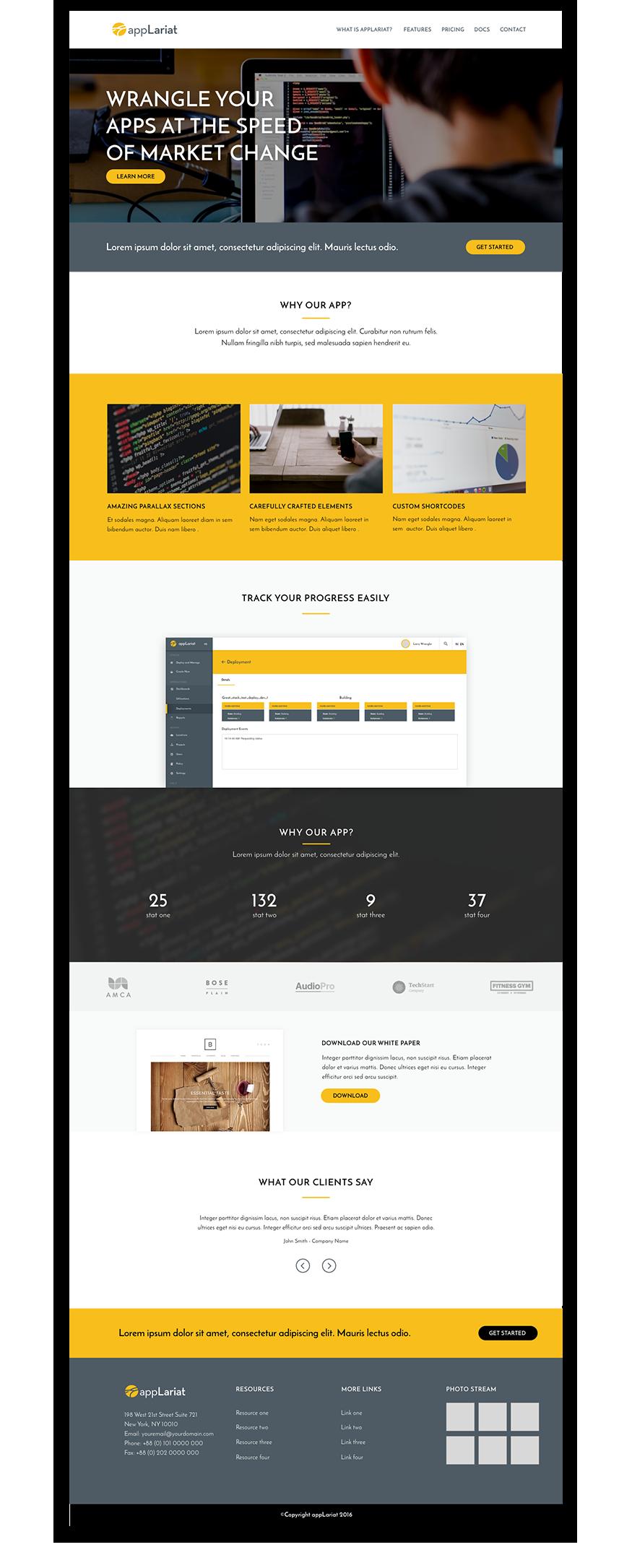 appLariat website design