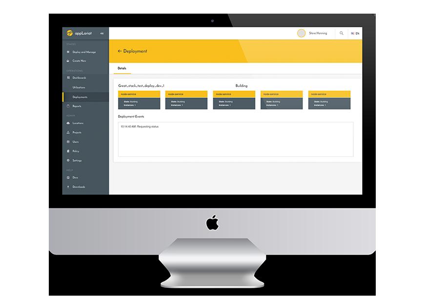 appLariat web app design