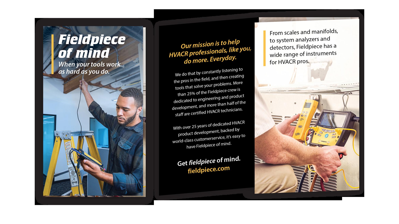 Fieldpiece branded brochure