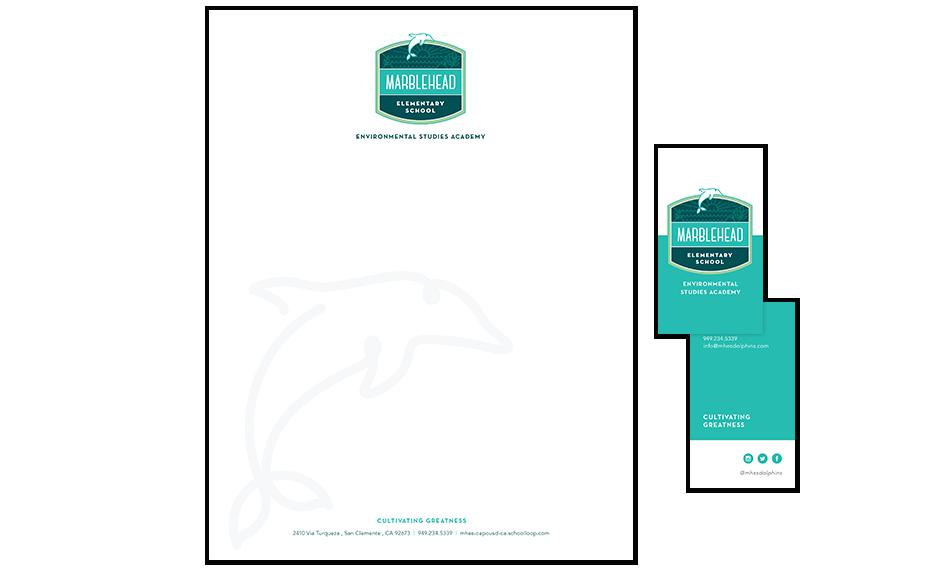 marblehead elementary school identity and branding