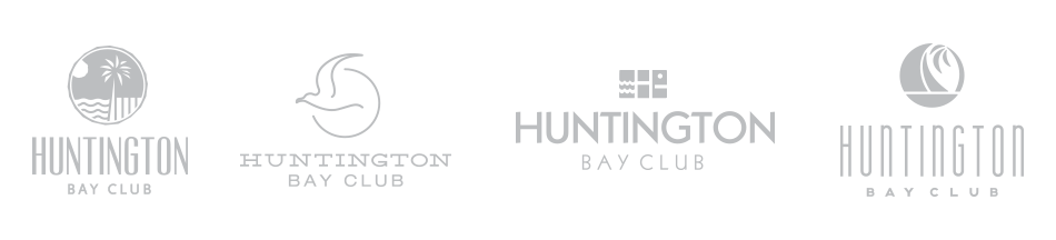 Huntington Bay Club Logo Concepts