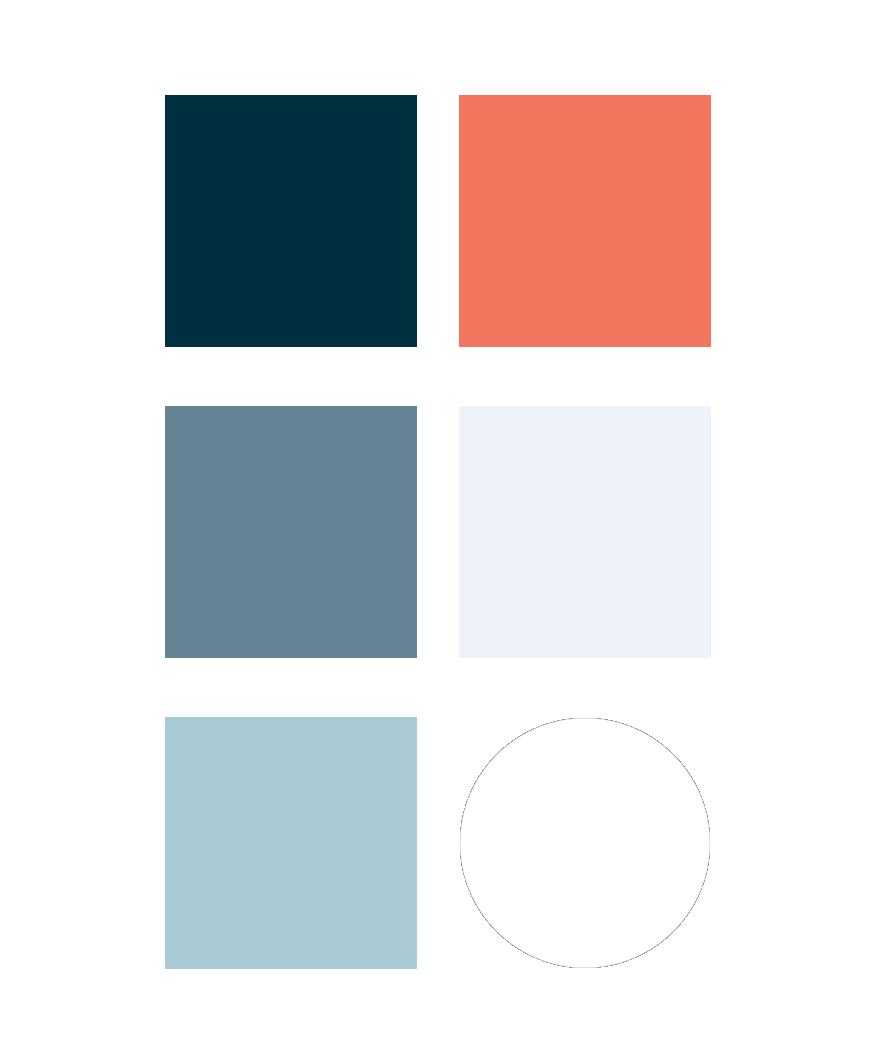 Huntington Bay Club brand colors