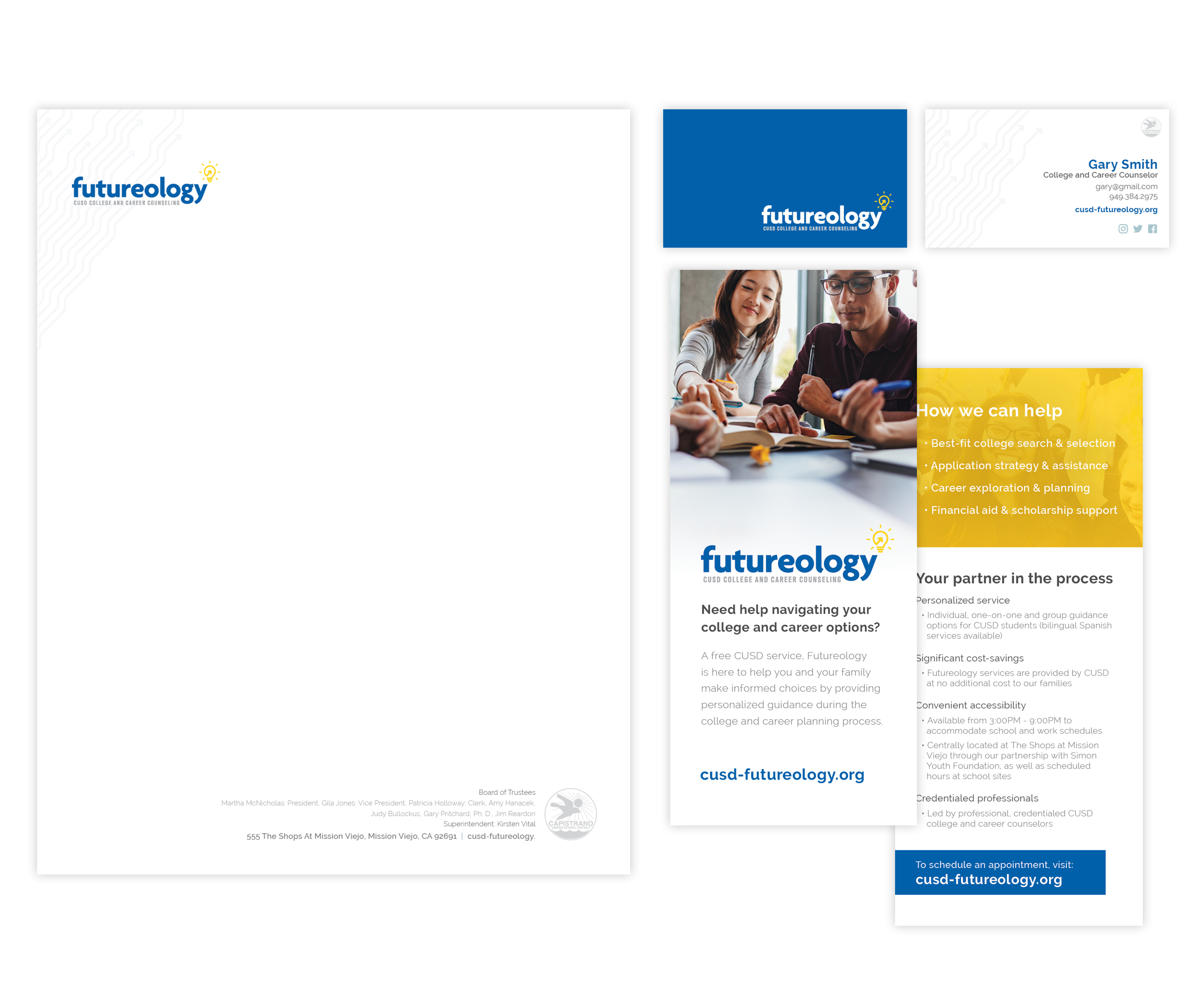 Futureology brand collateral