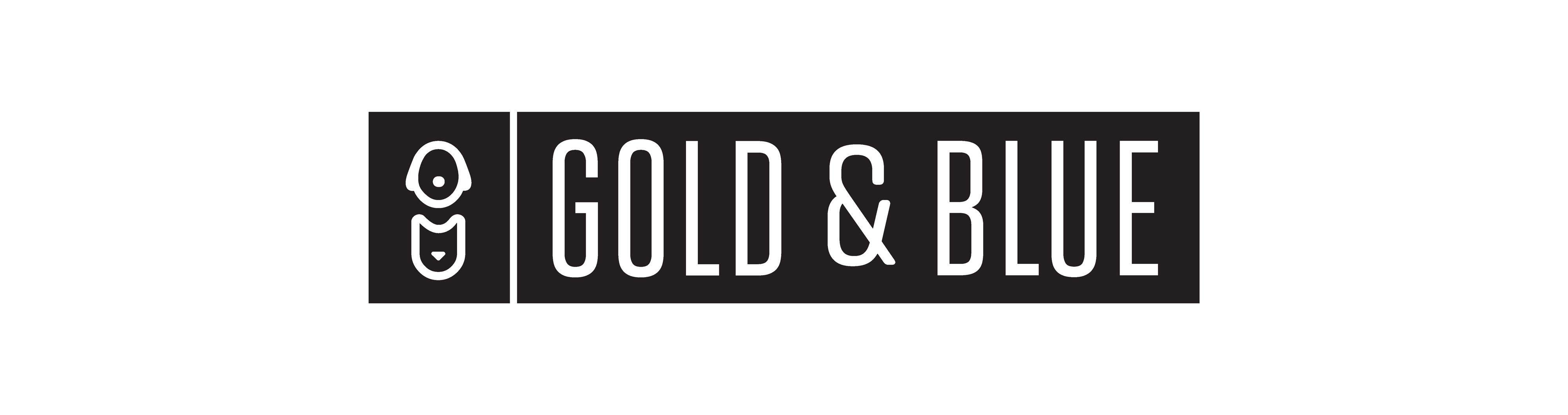 Gold & Blue logo