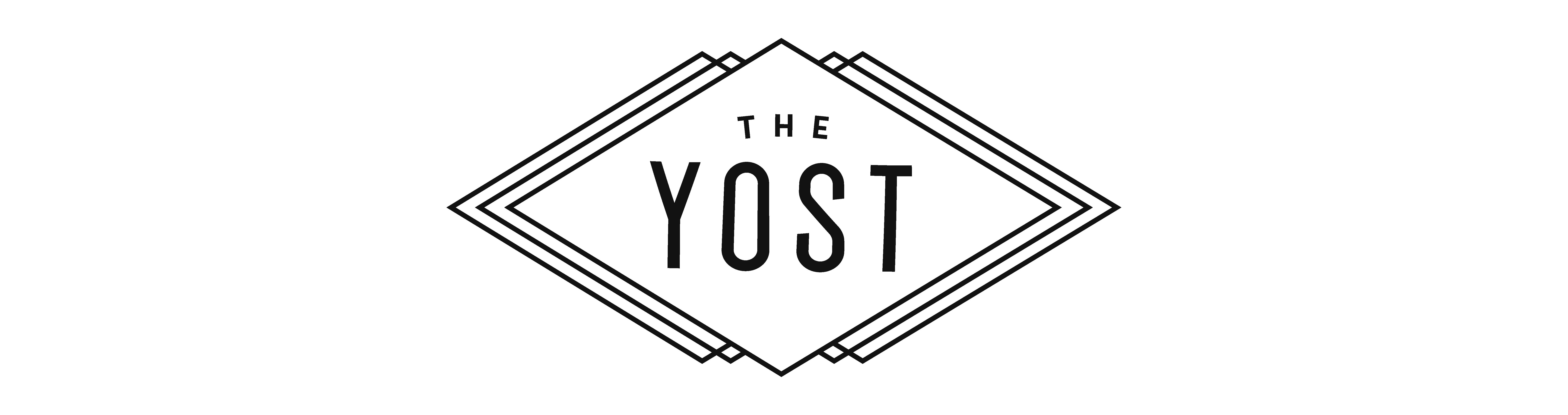 Yost venue logo and brand by Album