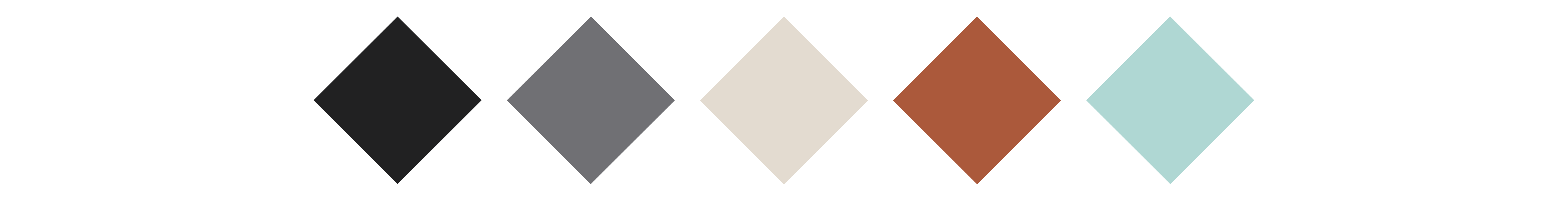 Venue branding color palette