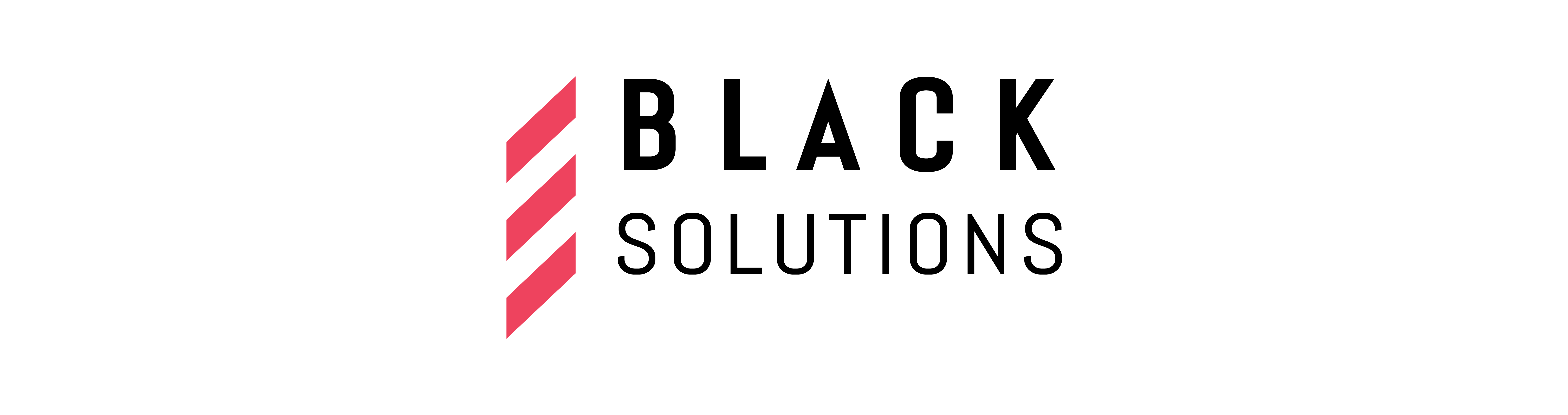 Black Solutions Logo and Icon