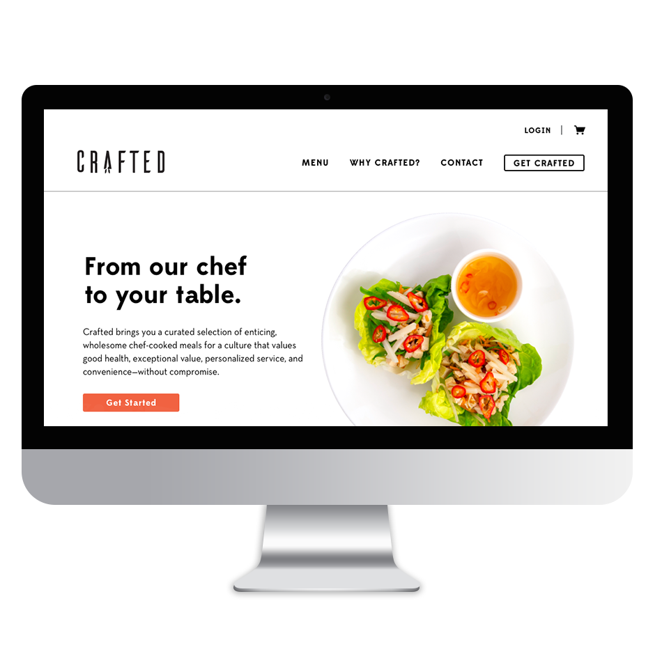 Crafted website