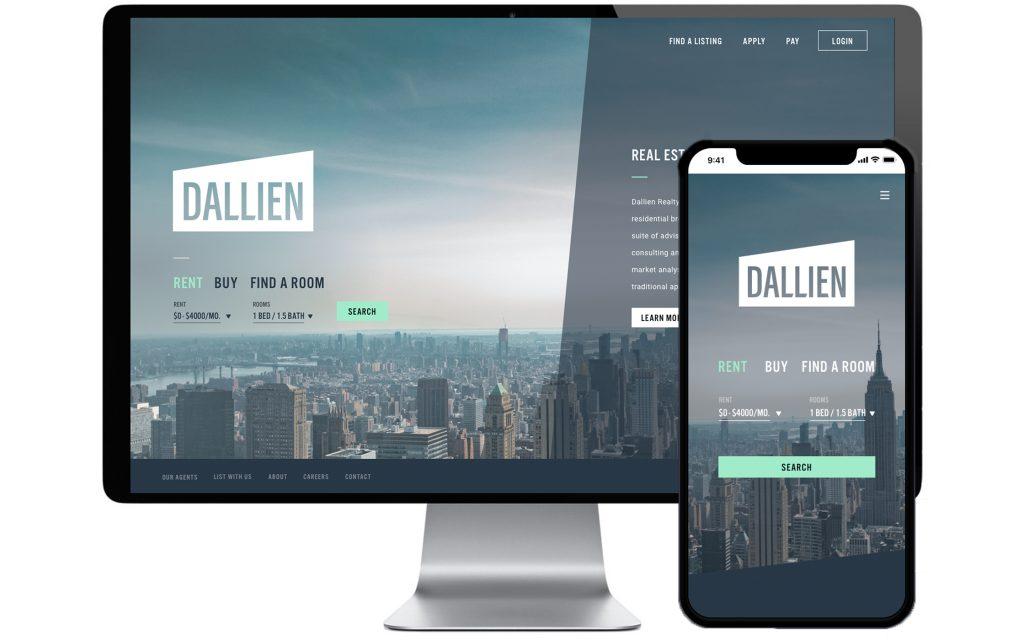 Dallien website