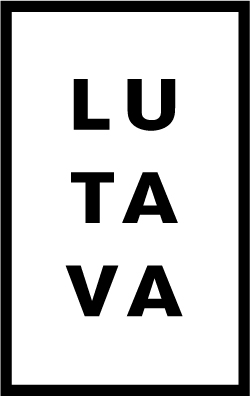 Lutava Logo - Black