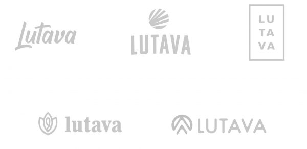 Lutava brand logo concepts