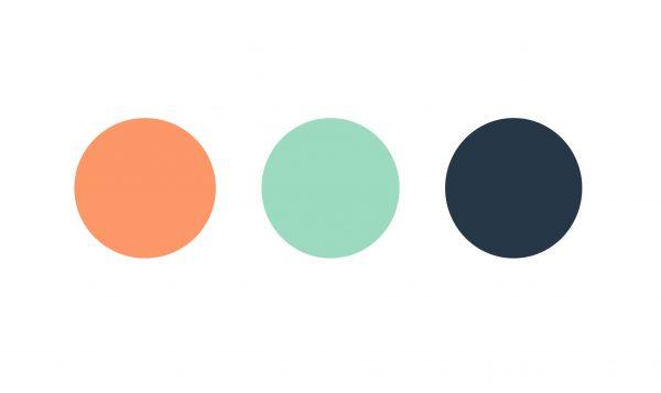 Dallien brand colors