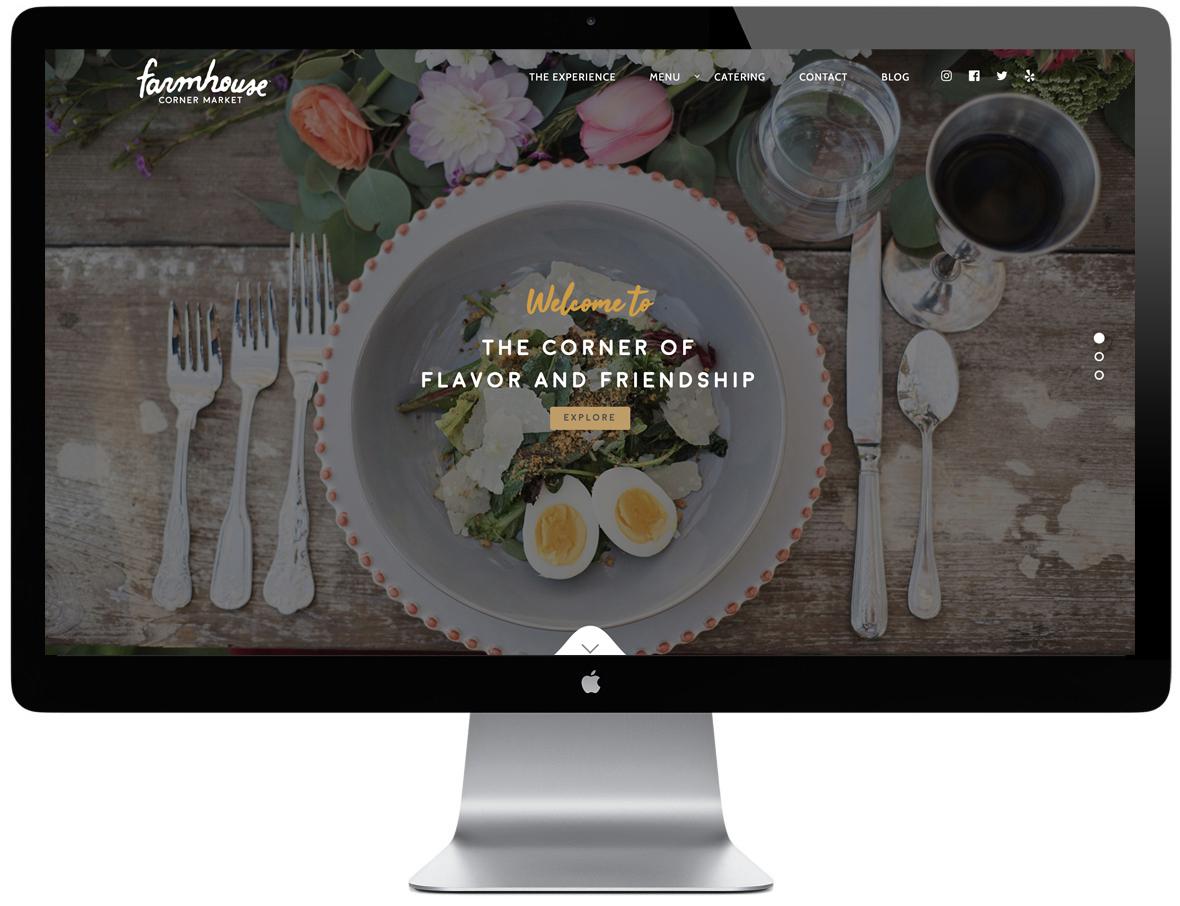 Farmhouse website design
