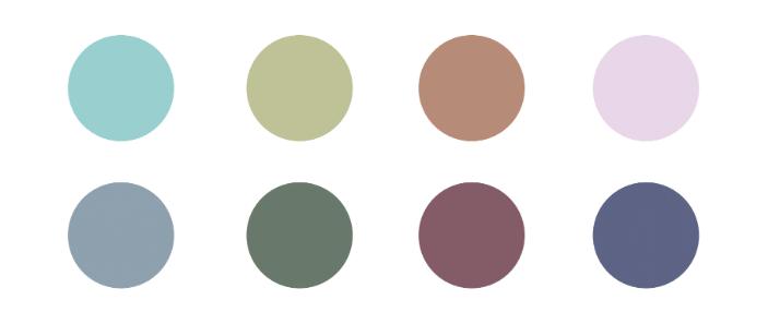 Lutava color palette