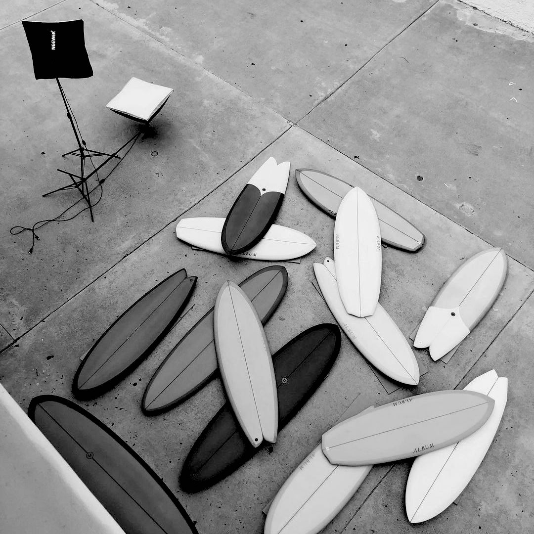 Album Agency Surfboards