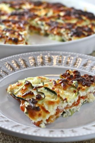 Zucchini and Tomato Lasagna